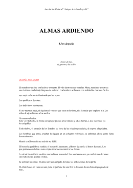 ALMAS ARDIENDO