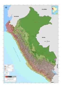 Ecorregiones del Perú - Geoservidor