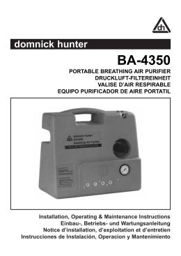 BA-4350 - Munster Air Compressors & Pneumatics