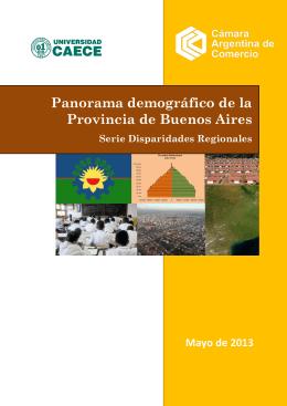 panorama demográfico de la provincia de buenos aires . serie