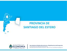 PROVINCIA DE SANTIAGO DEL ESTERO