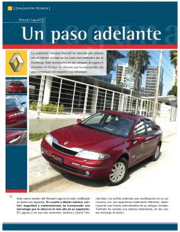 Renault Laguna 2, un paso adelante