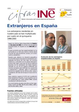 Extranjeros en España - Instituto Nacional de Estadística