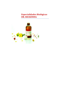 Especialidades Biológicas DR. RECKEWEG