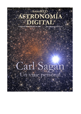 de Carl Sagan - Astronomía Digital