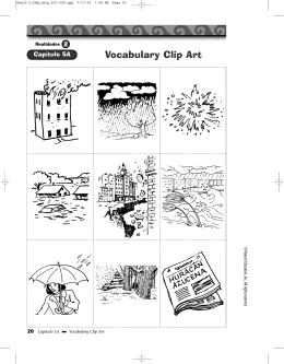 Vocabulary Clip Art