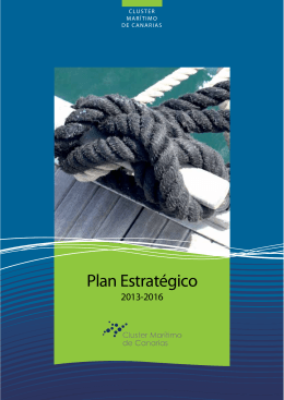 Plan Estratégico - Cluster Marino Marítimo de Canarias