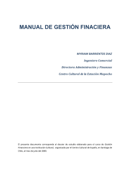 Manual de Gestión Financiera