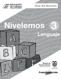 Lenguaje DOCENTE - Colombia Aprende