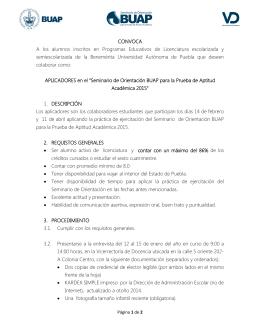 Descargar PDF - Seminario de Orientación BUAP