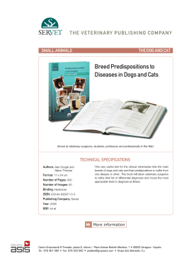 Breed Predispositions to Diseases in Dogs and Cats