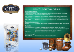 trucos crazy machines 2