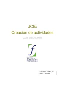 JClic Creación de actividades