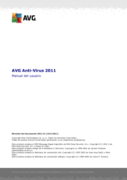 AVG Anti-Virus 2011