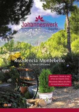 Descarar folleto - Residencia Montebello
