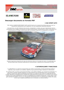 DAC sport auto