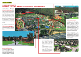 Ampliación de Berga Resort 2013