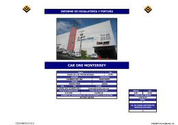 CAR ONE MONTERREY