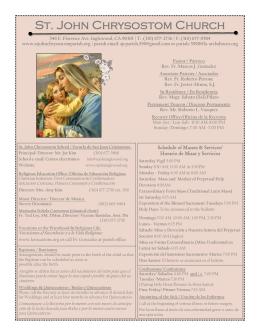 Misa de Consagración a María