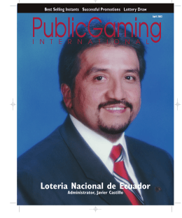 April 2003 Public Gaming International