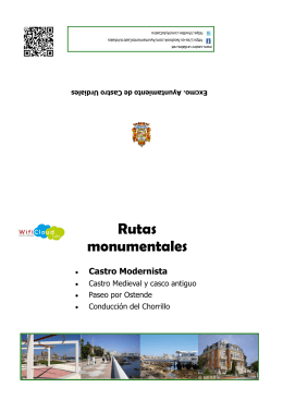 Ruta Castro Modernista - Turismo de Castro Urdiales