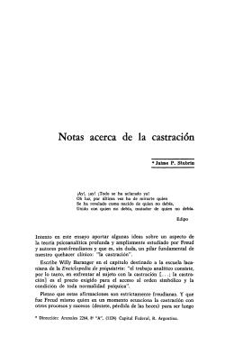 castracion - Biblioteca Digital de APA