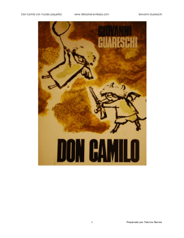 Don Camilo (Un mundo pequeño)