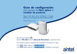 Manual Web Guía Rápida ONT (pdf 302 KB)