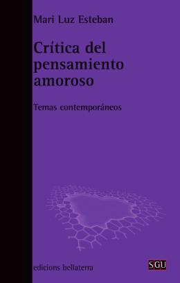 CRITICA DEL PENSAMIENTO AMOROSO(4g)