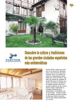 Hoteles PARTNER, Descubre la cultura y tradiciones