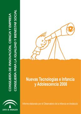 Informe sobre Nuevas Tecnologías e Infancia y