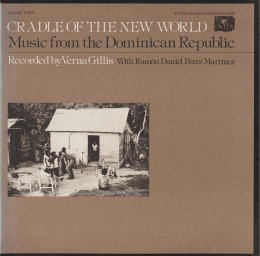 Music from the Dominican Republic
