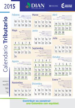Calendario Tributario 2015