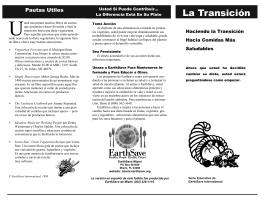 La Transición - EarthSave Miami