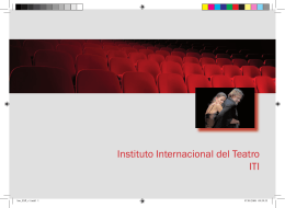Instituto Internacional del Teatro ITI