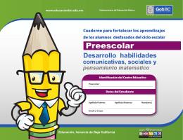 cuadernillo preescolar para pdf - WordPress.com