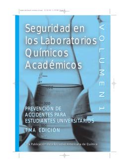 Seguridad en los Laboratorios Químicos Académicos