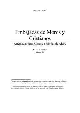 Transcripción embajada-Mora