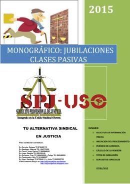 22.1.15 Monográfico Jubilaciones y Clases - SPJ
