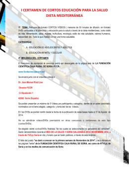 BASES Concurso VIDEOS DM