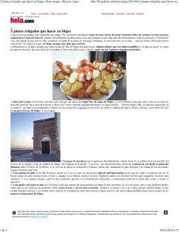 5 planes relajados que hacer en Sitges | Bon voyage