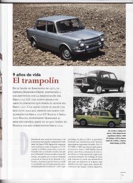 PDF: Articulo Simca Rallye 3Mb