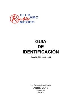 Guía de identificación 2