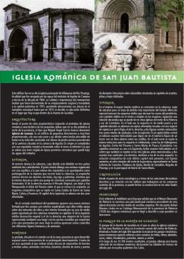 IGLESIA románica DE SAN JUAN BAUTISTA