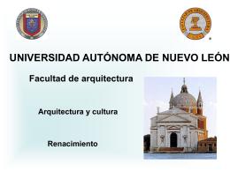 Historia de la Arquitectura I - Facultad de Arquitectura
