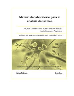 Manual de laboratorio para el análisis del semen