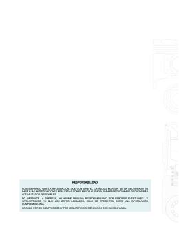 Catálogo MORESA Pistones, Válvulas y Punterías