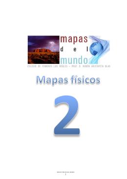 MAPAS FÍSICOS DEL MUNDO