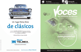 voces - Telmex