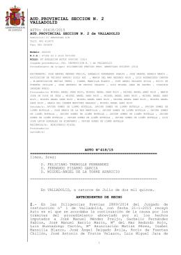 Auto archivo provisional caso usurpacion funciones Arroyo